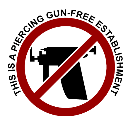 piercing gun free establishment image